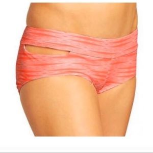 Athleta cut-out bikini bottom